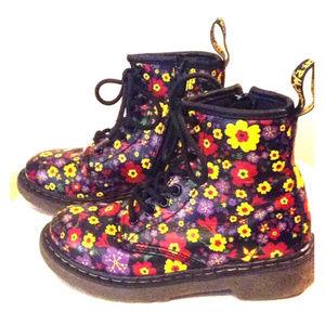 Little Girl's Dr. Martens DeLaney Boots Size 12